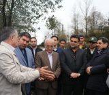 بازدید رییس بنیاد مسکن انقلاب اسلامی کشور از مناطق سیل زده شهرستان شفت