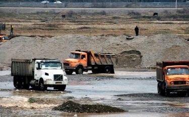 برداشت شن و ماسه از رودخانه های گیلان ممنوع شد